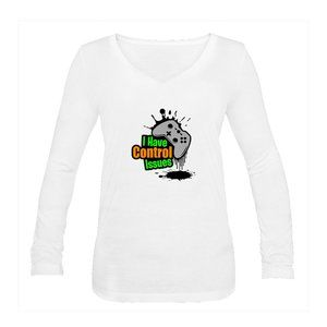 Women's Control Issues Color T-Shirt Long Sleeve
